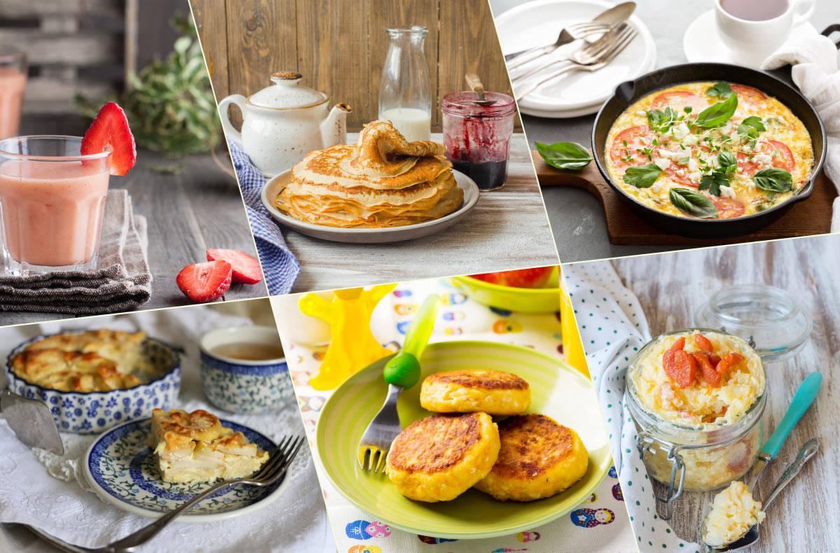 Завтрак на утро рецепты быстро 82