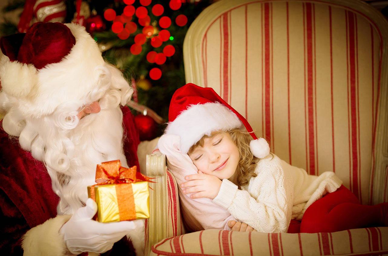 Дед Мороз и дети 80