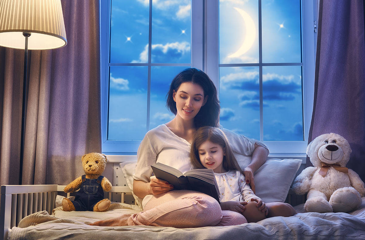все картинки мама укладывает спать дочку пошаговая инструкция